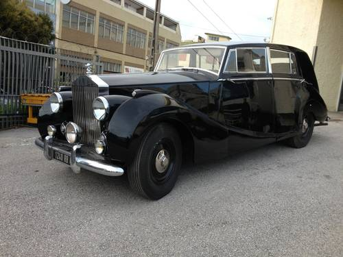 1949 Rolls Royce Silver Wraith by Franay For Sale (picture 1 of 6)