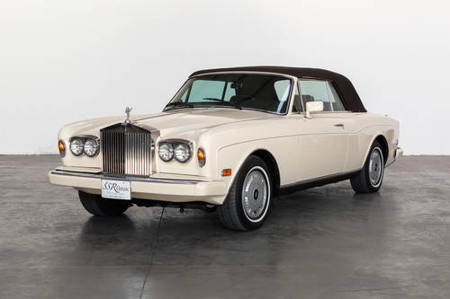 1986 Rolls Royce Corniche II For Sale (picture 1 of 6)
