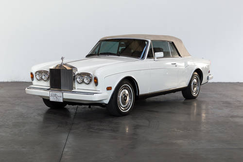 1990 Rolls Royce Corniche III For Sale (picture 1 of 6)