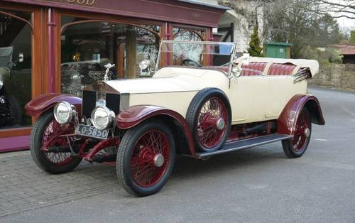 Rolls-Royce Silver Ghost 1914 Open Tourer by Hooper For Sale (picture 1 of 3)