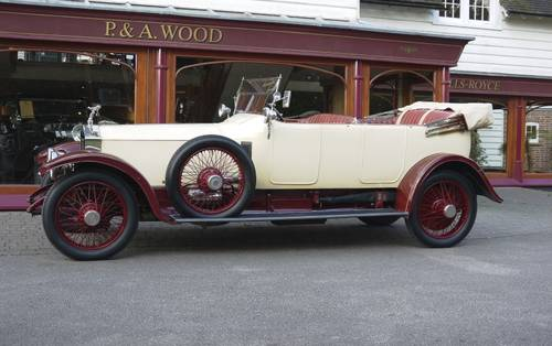 Rolls-Royce Silver Ghost 1914 Open Tourer by Hooper For Sale (picture 2 of 3)