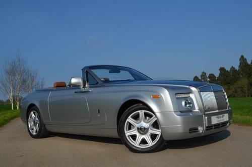 2009 ROLLS-ROYCE PHANTOM DROP HEAD LHD For Sale (picture 1 of 6)