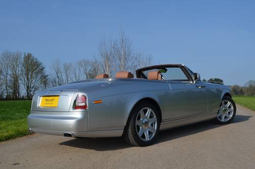 2009 ROLLS-ROYCE PHANTOM DROP HEAD LHD For Sale (picture 6 of 6)