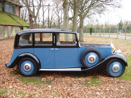 1935 Rolls Royce 20/25 Limousine by Park Ward For Sale (picture 1 of 6)