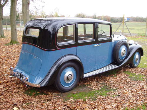 1935 Rolls Royce 20/25 Limousine by Park Ward For Sale (picture 3 of 6)