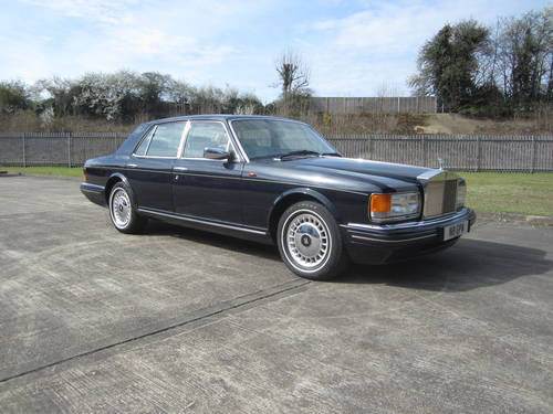 1996 Rolls Royce Silver Spirit III For Sale (picture 1 of 6)