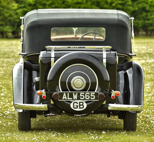 1934 Rolls Royce 20/25 Gurney Nutting 3 Position Drop Head