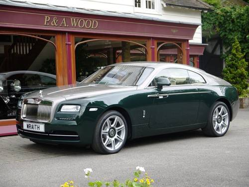2007 Rolls-Royce Wraith by P & A Wood.  March 2017 For Sale (picture 1 of 3)