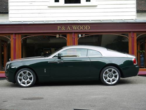 2007 Rolls-Royce Wraith by P & A Wood.  March 2017 For Sale (picture 2 of 3)