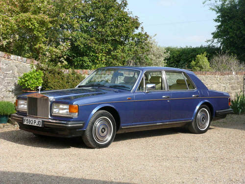 1989 Rolls Royce Silver Spirit  For Sale (picture 1 of 6)