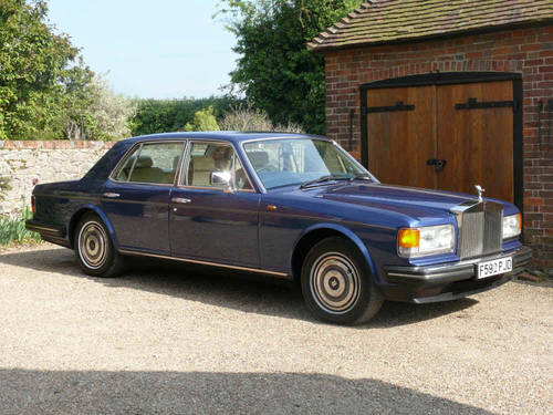 1989 Rolls Royce Silver Spirit  For Sale (picture 3 of 6)