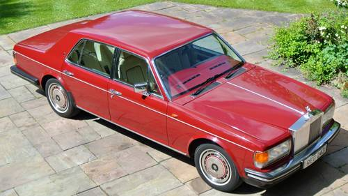1990 ROLLS ROYCE SILVER SPIRIT MKII  For Sale (picture 1 of 6)