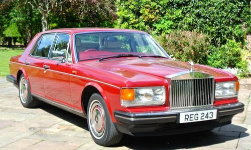 1990 ROLLS ROYCE SILVER SPIRIT MKII  For Sale (picture 2 of 6)