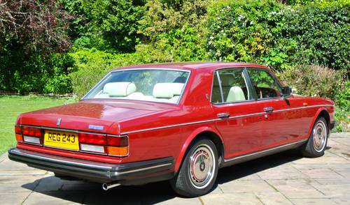 1990 ROLLS ROYCE SILVER SPIRIT MKII  For Sale (picture 4 of 6)