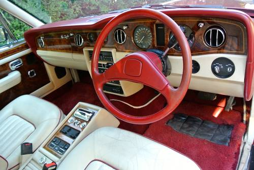 1990 ROLLS ROYCE SILVER SPIRIT MKII  For Sale (picture 5 of 6)