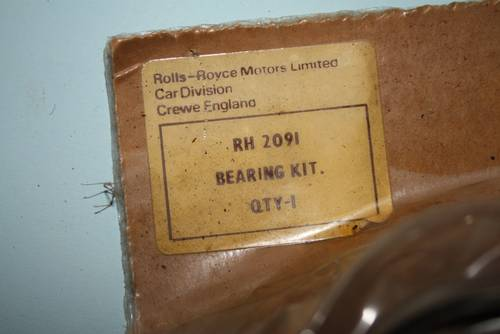 1949 Set RH2091 4.25 +20 NOS Main Bearings For Sale (picture 2 of 4)