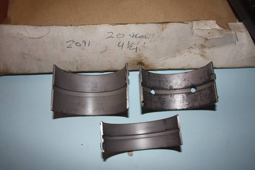 1949 Set RH2091 4.25 +20 NOS Main Bearings For Sale (picture 3 of 4)