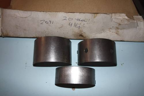1949 Set RH2091 4.25 +20 NOS Main Bearings For Sale (picture 4 of 4)