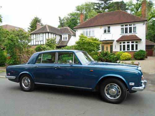 Rolls Royce Silver Shadow 1974 N Reg Superb Flared Arch Mod SOLD (picture 1 of 6)