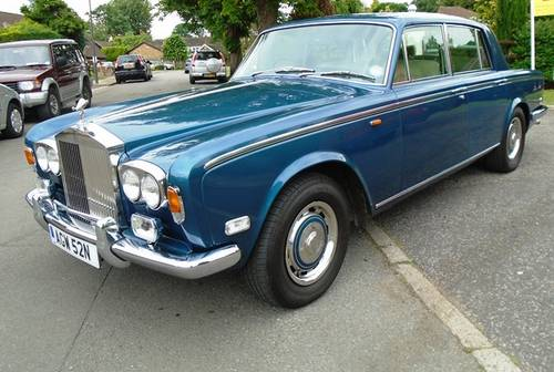Rolls Royce Silver Shadow 1974 N Reg Superb Flared Arch Mod SOLD (picture 6 of 6)