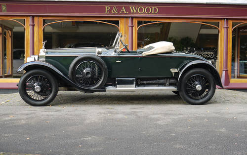 Rolls-Royce Silver Ghost 1923 Springfield Piccadilly Roadstr For Sale (picture 2 of 3)