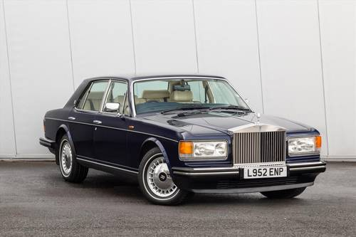 1993 Rolls Royce Silver Spirit Saloon III 4dr Auto SOLD (picture 1 of 6)