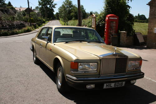 1982 Rolls Royce Silver Spirit SOLD (picture 1 of 6)