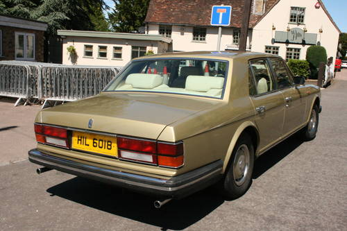 1982 Rolls Royce Silver Spirit SOLD (picture 2 of 6)
