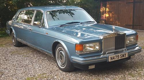 1995 Rolls Royce Spur 3 Touring Limousine by Mulliner park Ward For Sale (picture 1 of 6)
