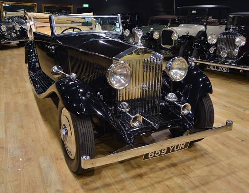 1934 Rolls Royce Gurney Nutting Owen Sedanca 3 Position DH For Sale (picture 1 of 6)