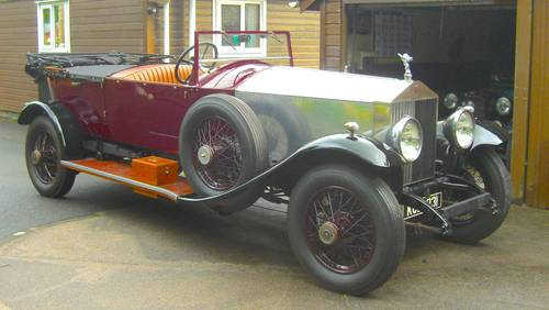 1929 ROLLS ROYCE PHANTOM  OPEN TOURER   important Indian history SOLD (picture 1 of 6)