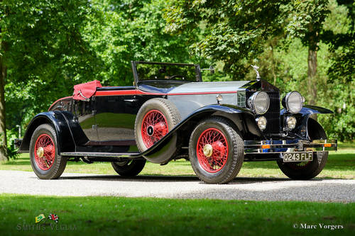 1927 Rolls Royce Springfield with a Brewster body, Restored LHD ! For Sale (picture 1 of 6)