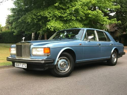 1985 ROLLS ROYCE SILVER SPIRIT 6.8 SOLD (picture 1 of 6)