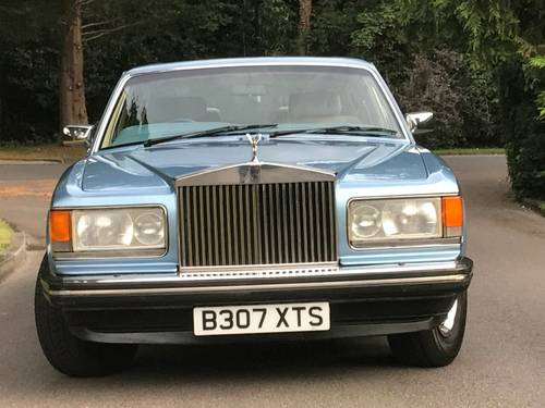1985 ROLLS ROYCE SILVER SPIRIT 6.8 SOLD (picture 4 of 6)