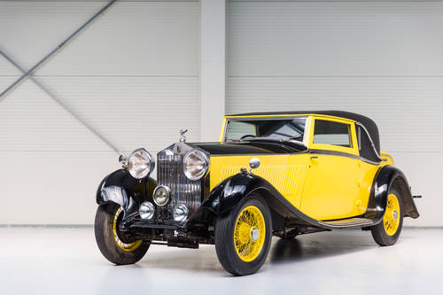 1934 Rolls-Royce 20/25HP - Coupé by Barker For Sale (picture 1 of 6)