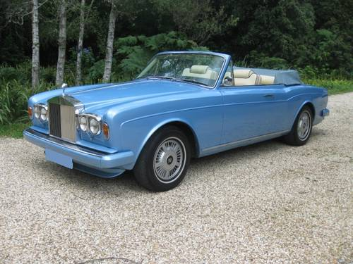 1980 Rolls-Royce Corniche Convertible SOLD (picture 1 of 6)