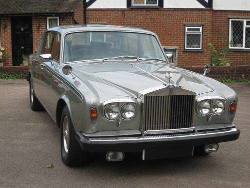 1979 Rolls-Royce Silver Shadow II SOLD (picture 1 of 6)