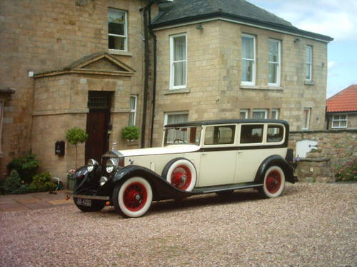 1933 Rolls-Royce Phantom II D-Back Limousine For Sale (picture 1 of 6)