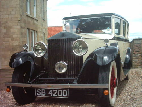 1933 Rolls-Royce Phantom II D-Back Limousine For Sale (picture 2 of 6)