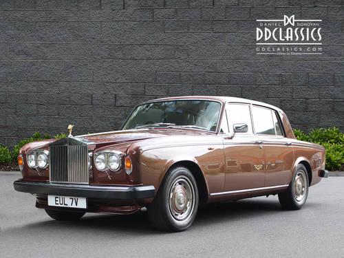 1980 Rolls-Royce Silver Shadow II (RHD) For Sale (picture 1 of 6)