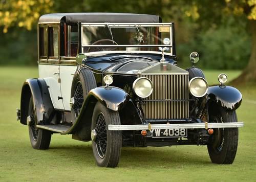 1928 Rolls Royce Phantom I Sedanca by Hooper For Sale (picture 1 of 6)