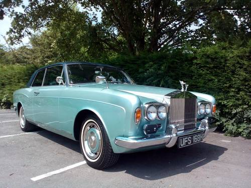 1970 ROLLS ROYCE  MPW  2 DOOR  COUPE. For Sale (picture 1 of 6)