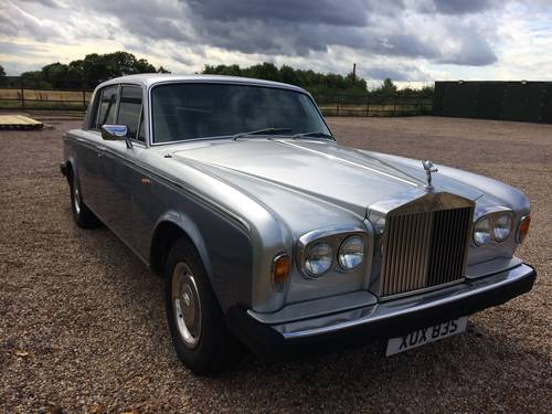 1977 ROLLS ROYCE SILVER SHADOW II ONLY 61,000 MILES SOLD (picture 2 of 6)