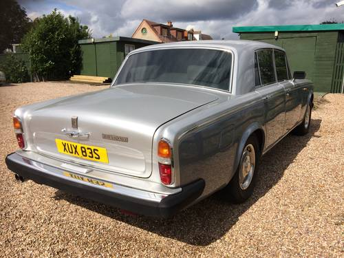 1977 ROLLS ROYCE SILVER SHADOW II ONLY 61,000 MILES SOLD (picture 3 of 6)
