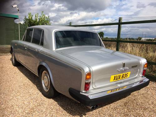 1977 ROLLS ROYCE SILVER SHADOW II ONLY 61,000 MILES SOLD (picture 4 of 6)