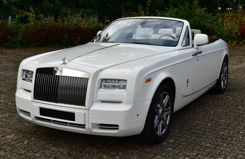 2015 Rolls Royce Phantom Drop Head Coupé LHD For Sale (picture 1 of 6)