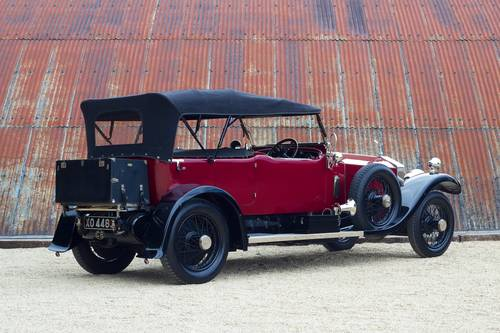1921 ROLLS ROYCE 40/50HP SILVER GHOST TOURER SOLD (picture 2 of 6)