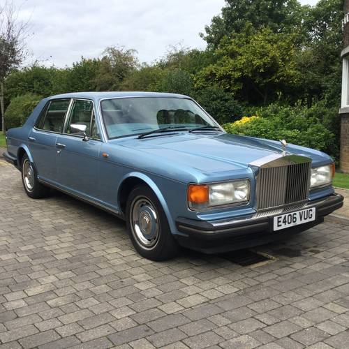 Rolls Royce Silver Spirit 1988 47,400 Miles ABS/ Injection SOLD (picture 1 of 6)