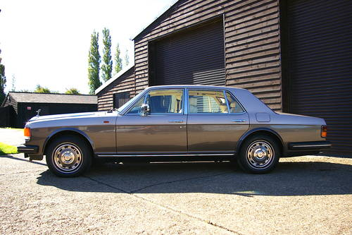 1984 Rolls Royce Silver Spur 6.8 Saloon Auto (23,342 miles) SOLD (picture 1 of 6)