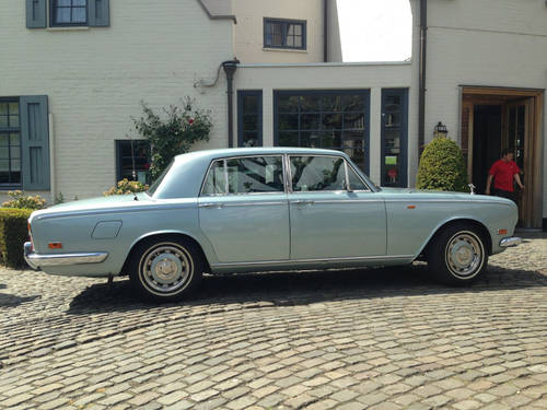 Rolls Royce Silver Shadow LHD, 1972. For Sale (picture 2 of 6)